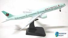 18cm 1:400 Air Canada Airline 777 Airplane Aeroplane Diecast Plane Toy Model