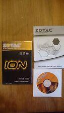 ZOTAC IONITX-E, ZOTAC IONITX-G, Users Manual, Handbuch mit Treiber CD