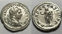 Rare original Ancient Roman silver Coin antoninianus Caracalla