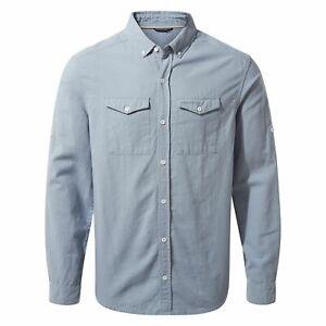 Craghoppers Mens Kiwi Linen Long Sleeved Shirt CG1297