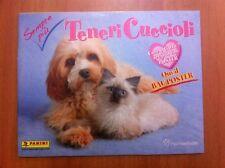 ALBUM vuoto SEMPRE PIU' TENERI CUCCIOLI Panini 2010 con poster