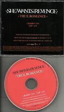 Justin Warfield SHE WANTS REVENGE True Romance RADIO VERSION PROMO DJ CD single