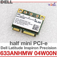 Wi-Fi WIFI WLAN KARTE CARD FÜR DELL M17X R2 MINI PCI EXPRESS 633ANHMW 04W00N D15