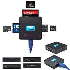 High Speed USB3.0 All in 1 SD TF CF XD M2 MS Flash Memory Card Reader Adapter CN