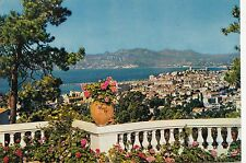 BF20251 cannes a m vue panoramique sur cannes  france  front/back image