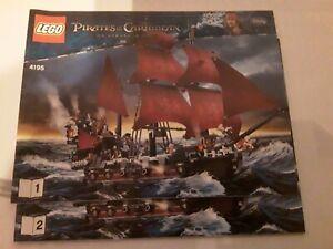 LEGO Pirates of the Caribbean Queen Anne's Revenge (4195) Bauanleitung