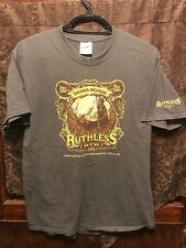 KEN TAYLOR Art ~ Mens L ~ Sierra Nevada Ruthless Rye IPA Beer T Shirt Pearl Jam