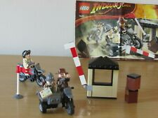 LEGO (7620) Last Crusade Indiana Jones Motorcycle Chase