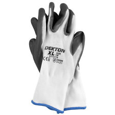 New Dekton Ultra Grip Nitrile Protective Safety Work Gloves 10/XL DT70779