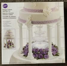 Wilton Roman Column And Plate Set For Wedding Cake