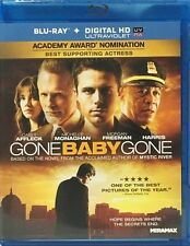 GONE BABY GONE NEW BLU RAY DISC MOVIE FILM DRAMA CASEY AFFLECK MORGAN FREEMAN