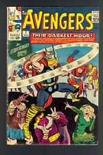Avengers #7 (1964) Very Good Minus (3.5) ~ Stan Lee & Jack Kirby ~ Marvel