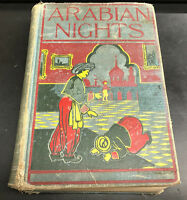 VINTAGE The Arabian Nights' Entertainments Rand, McNally ca. 1910 Hardcover Book