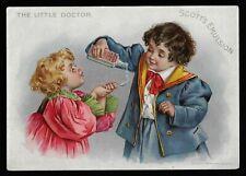 The Little Doctor - Scott's Emulsion, Scott & Bowne, Chemists, New York