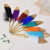 Kawaii Feather Gel Pen Neuheit Cute Pens Geschenk Office School Writing Supplies
