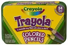 Crayola 54ct Trayola Colored Pencils , New, Free Shipping