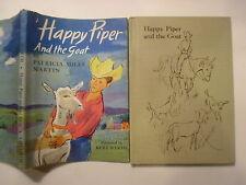 Happy Piper and the Goat, Patricia Miles Martin, Kurt Werth, DJ, 1960