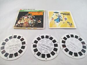 View Master Wonderful World of Disney, Disney on Parade 3 reels & Booklet B517