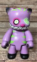 "8"" Cheshire Cat Qee Purple 2004 Toy2r Anna Puchalski Limited Edition Vinyl Toy"
