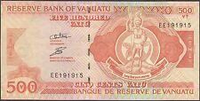 TWN - VANUATU 5c - 500 Vatu 2009 UNC Prefix EE