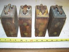 Old FORD Model T Car Truck Ignition Spark Buzz Coil Lot BRASS TOP Hit Miss HOT!