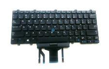 Genuine Dell Latitude E7450 E7470 E5450 E5470 3340 Backlit US EU Keyboard F2X80