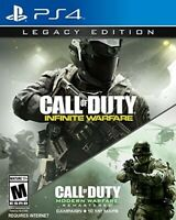 Call Of Duty: Infinite Warfare Legacy Factory Sealed PS4 - Sony PlayStation 4