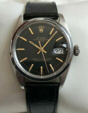 Vintage Rolex Oyster Date 1500 Calibre 1570 Auto. Stainless Steel Men's Watch