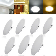 1X 24W LED Bright  Recessed Ceiling Panel Down Light Lamp Cool White 6000K Round