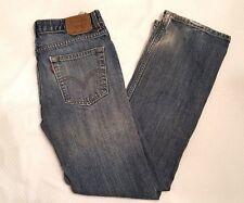 Levi's Boys 514 Classic Straight Leg Jeans - Size 18  29 X29 Ships Free