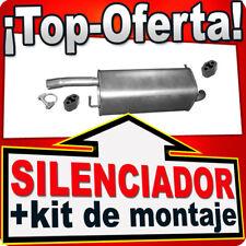 Silenciador trasero FORD FIESTA MK V MAZDA 2 1.2 1.3 1.4 2002-2008 Escape AJU