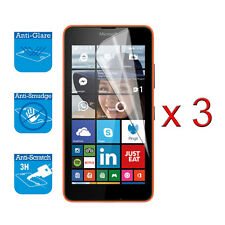 For Microsoft Lumia 640 Lte Screen Protector Cover Guard Lcd Film Foil x 3
