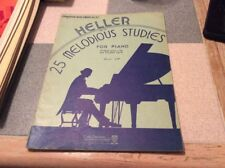 Heller 25 Melodious Studies for Piano op.45 Preparatory no. 327