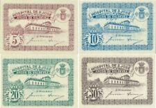 Portugal Hospital de S. José 5, 10, 20, 30 centavos UNC