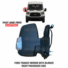 Ford Transit 150 250 350 Mirror Heated Manual W Indicator Right Side 2015 2019