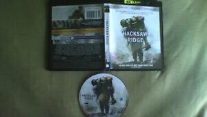 Blu-Ray HACKSAW RIDGE US-release with Dolby Atmos Andrew Garfield free postage