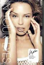 KYLIE MINOGUE - IN YOUR EYES / TIGHTROPE 2002 UK CASSINGLE CARD SLEEVE SLIP-CASE