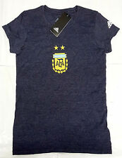 Adidas B227W Womens Argentina Team Cap Sleeve Tee DK-Navy  Sz: MEDIUM