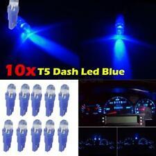 10x T5 Wedge Blue LED Dash Instrument Speedo Light 73 74 for 2012 Toyota Avalon
