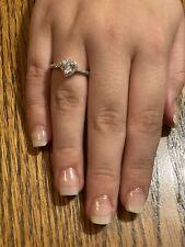 Love Diamond Heart-shaped Female RingSz8