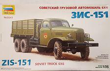 Zvezda 3541 ZIS-151 Soviet Truck 6x6 1:35 Neu, nicht eingetütet