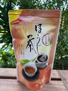 Japanese Green Tea Houjicha 20 pyramid tea bags Produced in Japan Award-winnning