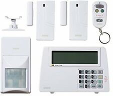 Home Wireless Burglar Alarm Security System Motion Door Sensor LCD Touch Screen