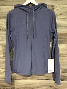 NWT Lululemon Define Hooded Jacket *Nulu Sz 12 PEPU Peri Purple - 50364