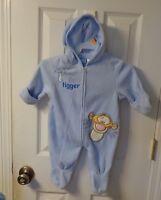 INFANT BABY DISNEY TIGGER PRAM BUNTING SNOWSUIT  TIGGER APPLIQUE  3-6 MONTHS