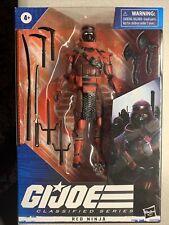 G.I. Joe Classified Red Ninja 08 MISB RARE