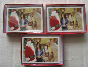 FRIENDS Christmas Cards*3 Boxes*Monica Santa Armadillo*holiday*Hanukkah