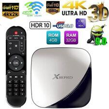 2019 X88 PRO 4+32GB Android 9.0 Quad Core Smart TV Box WIFI 3D H.265 Media I7O1