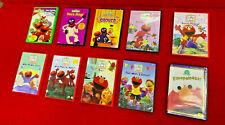 SESAME STREET ELMO DVDS LOT OF 10