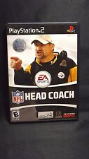 NFL HEAD COACH EA SPORTS PLAYSTATION 2 2006 WITH INSTRUCTIONS AND CASE